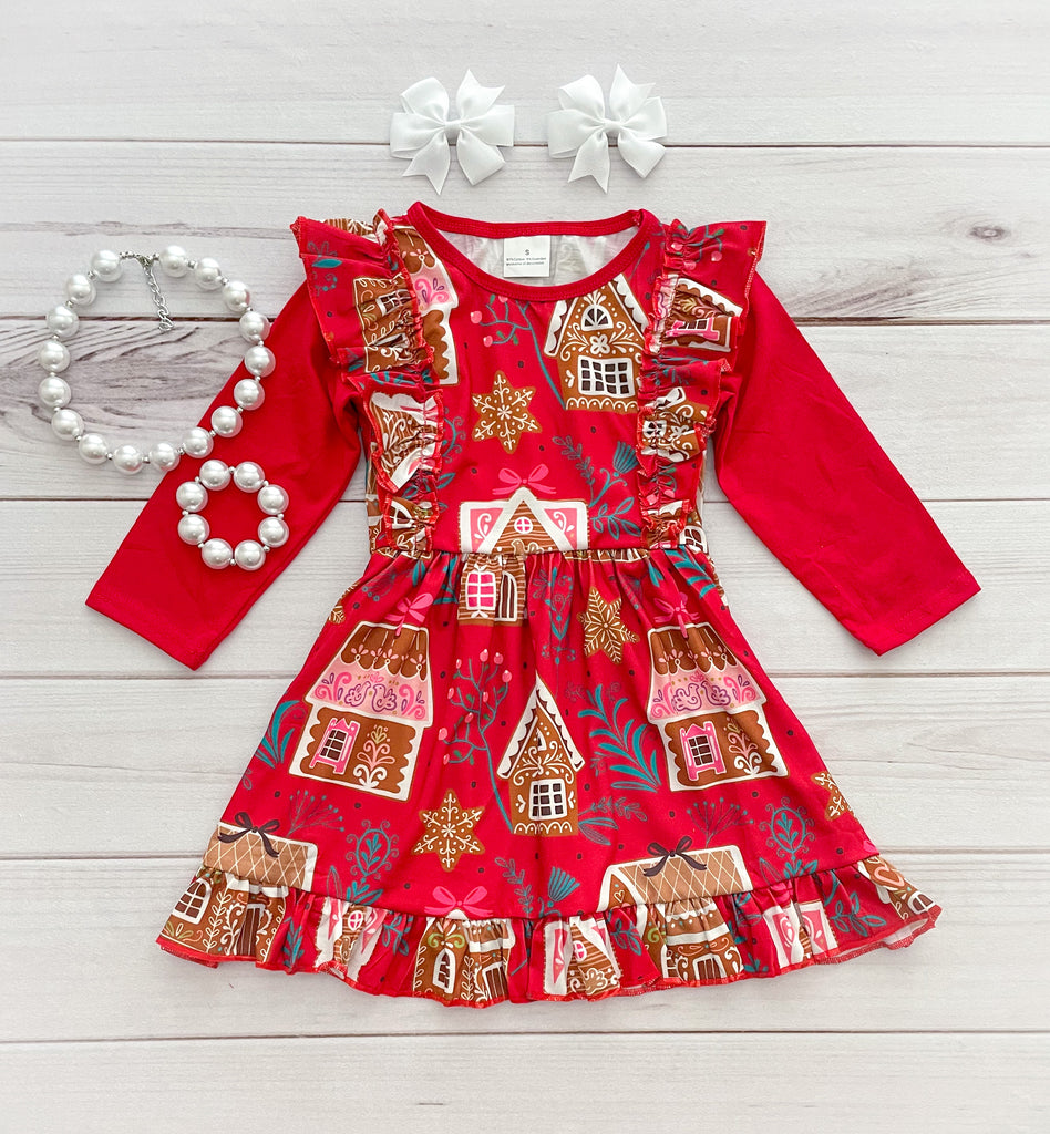 Gingerbread House Boutique Dress