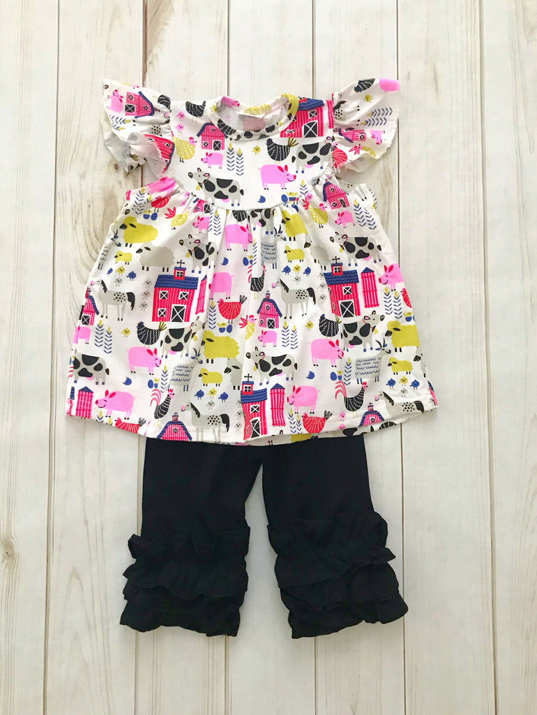 Barnyard Capri Set {LIMITED}
