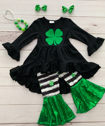 Shamrock Sequins Bells Set