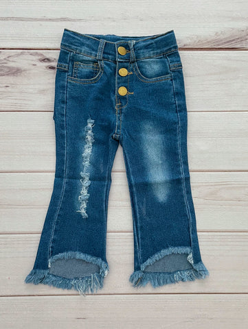 Distressed Jeans (3 buttons)