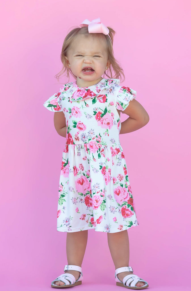 """Kira"" Floral Boutique Dress"