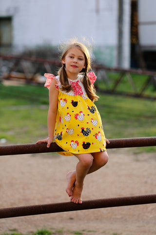 """In The Coop"" Dixie Chicken Dress {LIMITED}"