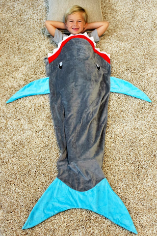 HOT! Shark Tail Blanket