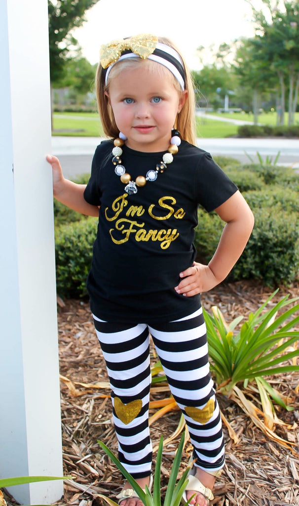 """I'm so Fancy"" Boutique Outfit"