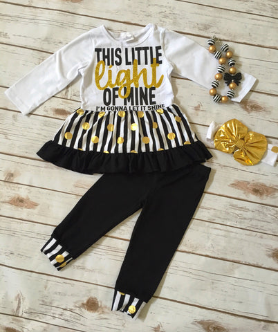 """This Little Light of Mine"" Pant Set"