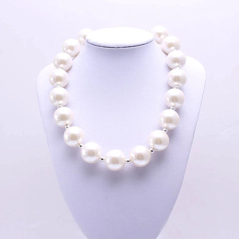 Purely Pearls Chunky Necklace