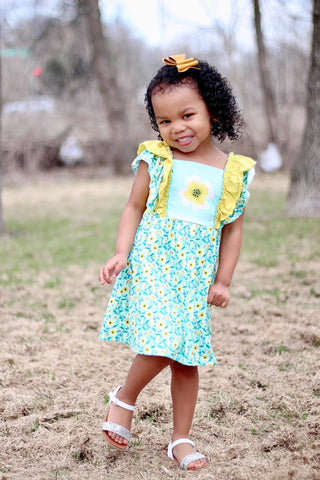 "The ""Matilda"" Floral Boutique Dress"