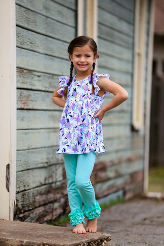 """Saylor"" Floral Boutique Outfit {LIMITED}"
