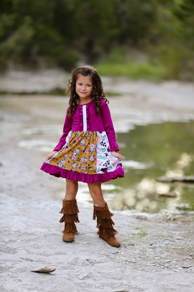 """Annabelle"" Fall Boutique Dress {LIMITED EDITION}"
