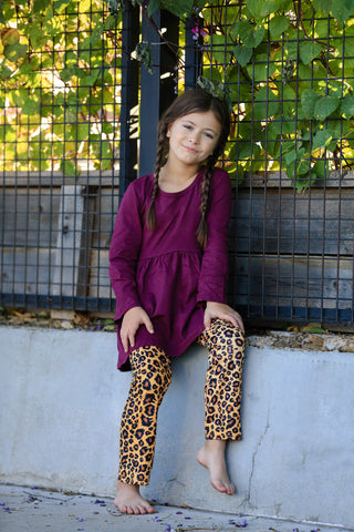"The ""Kenna"" Leopard Pant Set"