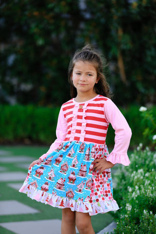 Christmas Candy Boutique Dress {EXCLUSIVE}