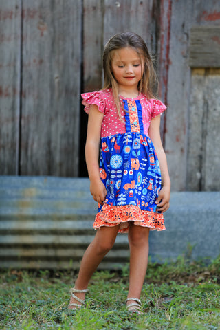 """Emerson"" Fall Boutique Dress"