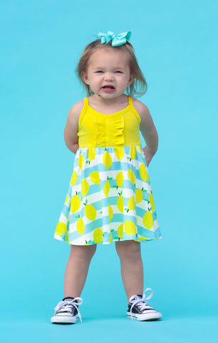 Summertime Lemon Dress