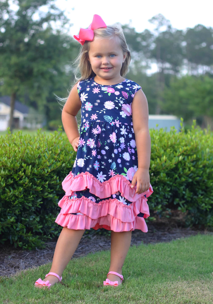 """Izzy"" Ruffle Boutique Dress"