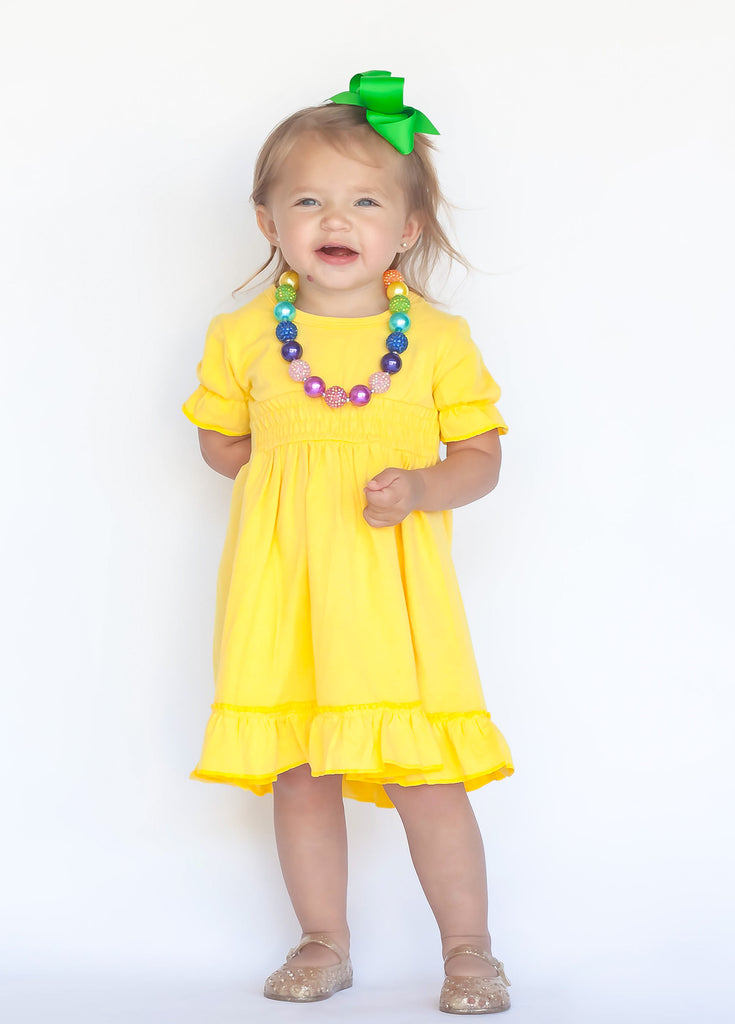 Spring Solid Lap Dress - MANY colors!!!