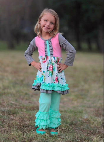 """Lilly"" Ruffle Boutique Outfit"