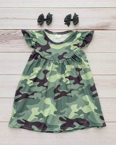 Camo Cutie Pearl Dress