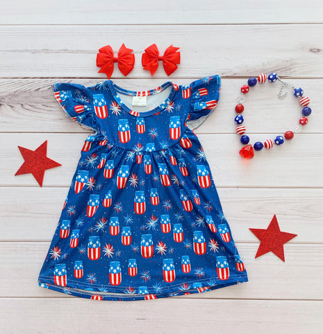 Sweet Southern Firecracker Pearl Dress