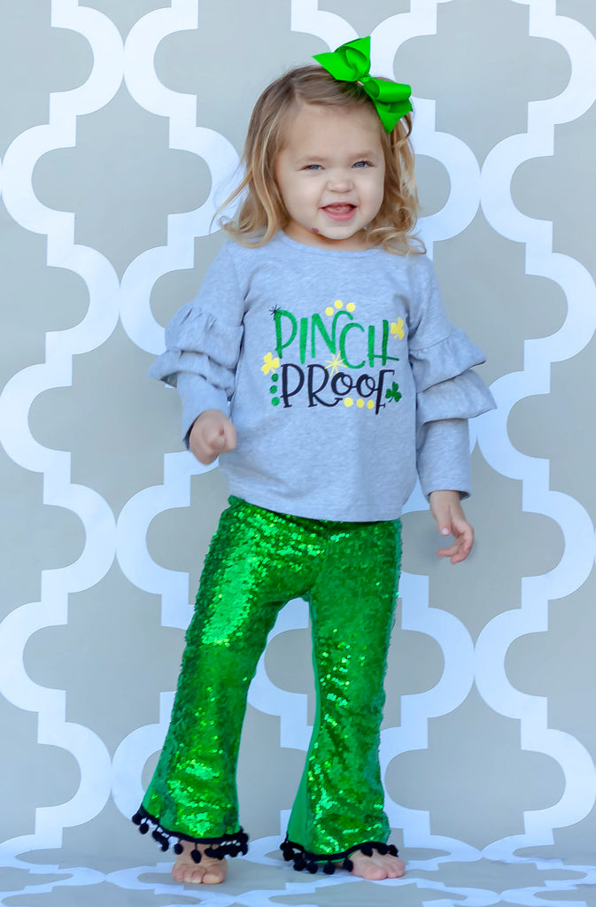 Pinch Proof Sequins Pant Set - LIMITED!