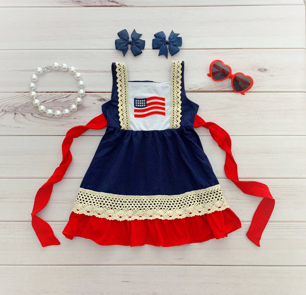 "The ""Stars & Stripes"" Boutique Dress"