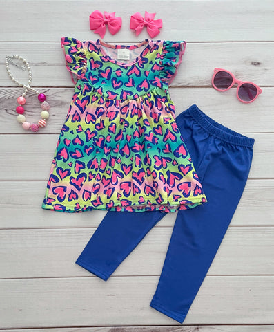 Frankly in Love Tunic/Leggings Set