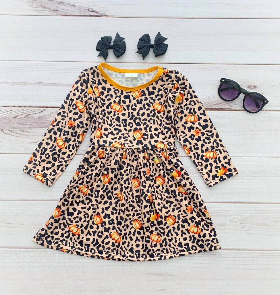 Wild & Sassy Pumpkin Boutique Dress