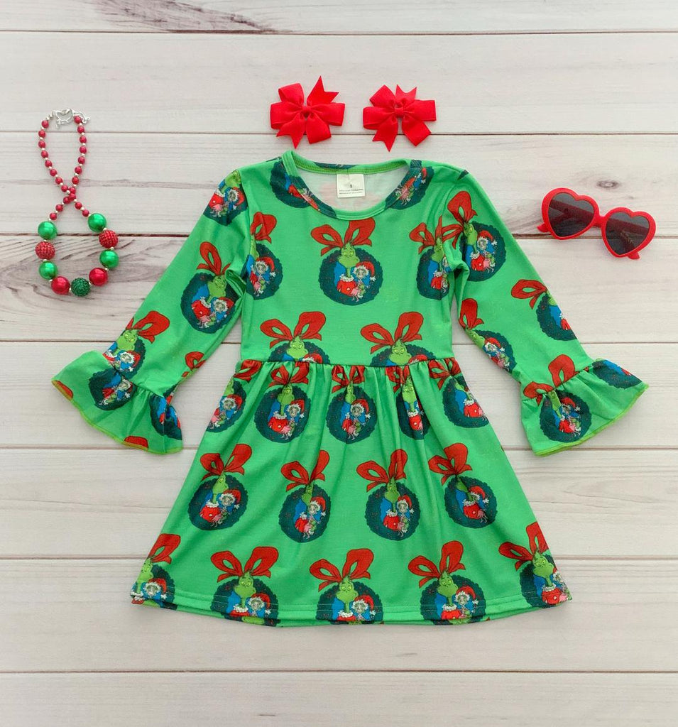 Grinch Boutique Dress
