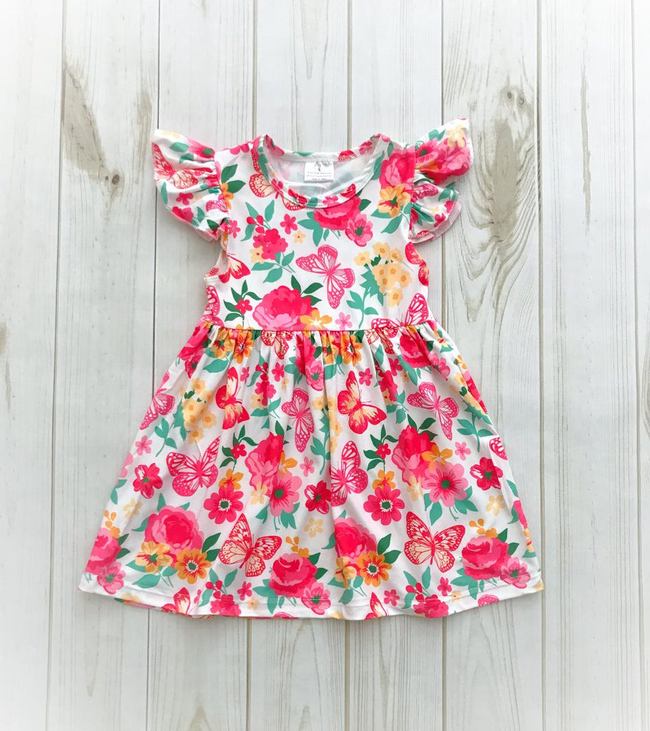 Butterfly Garden Boutique Dress