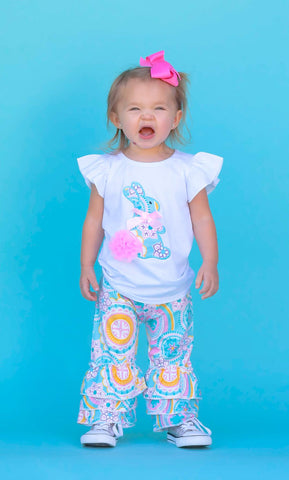 Paisley Cottontail Easter Capri Set {LIMITED EDITION}