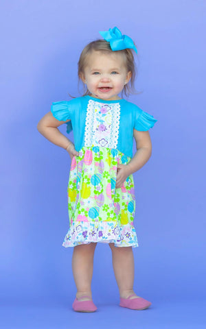 Spring Chick Easter Dress {EXCLUSIVE}