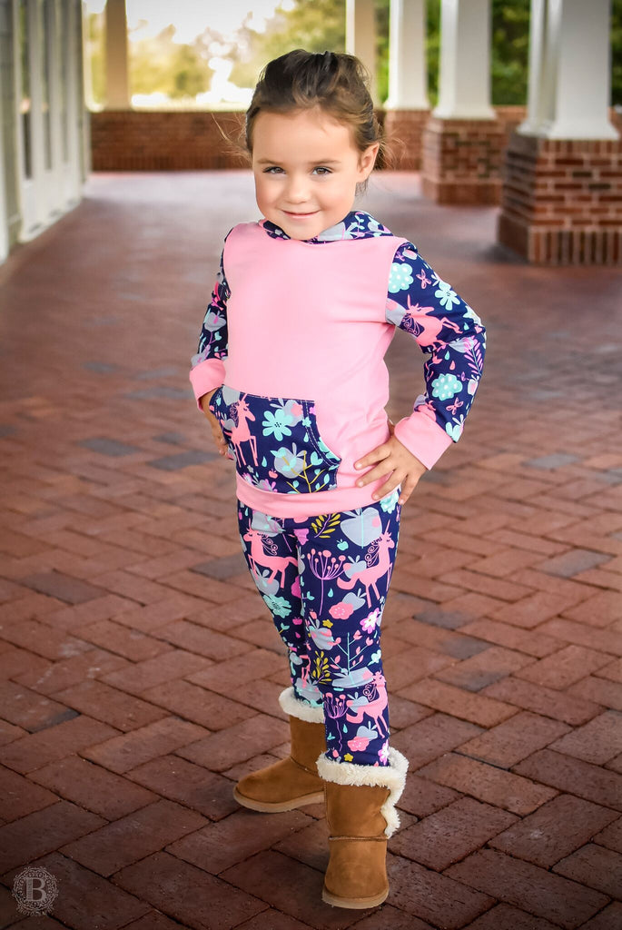Unicorn Hooded Top/Pant Set