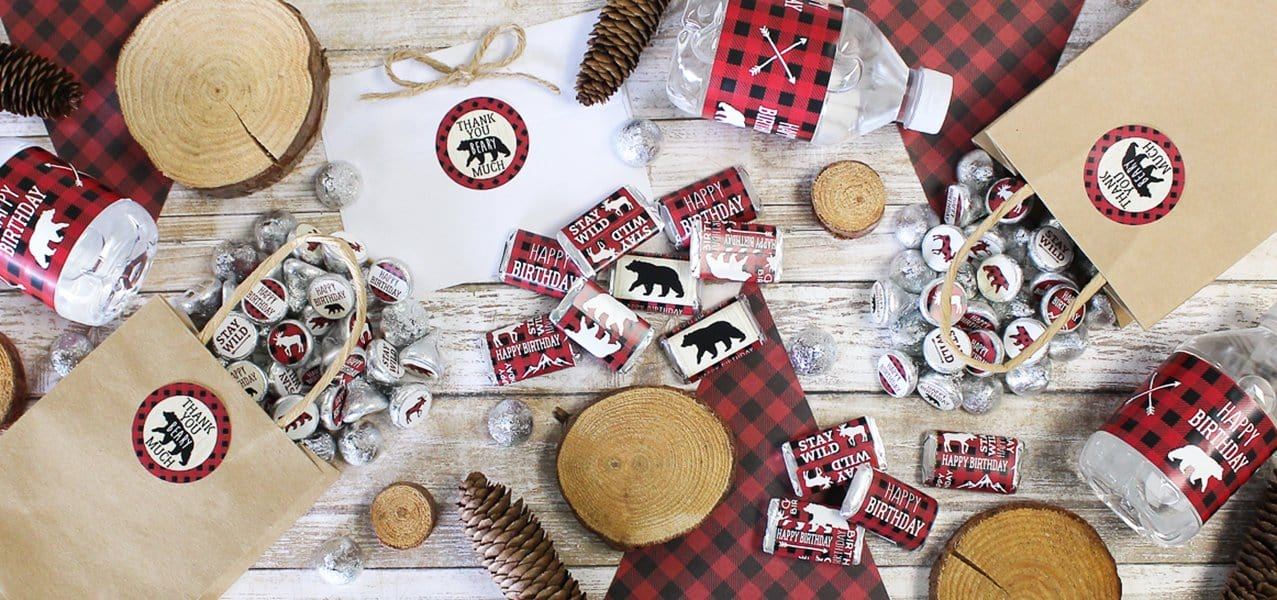 Plaid Lumberjack Birthday Party