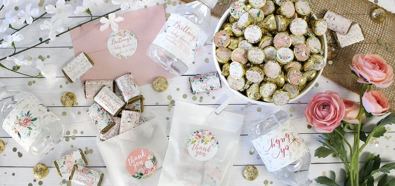 Pink Floral Baby Shower