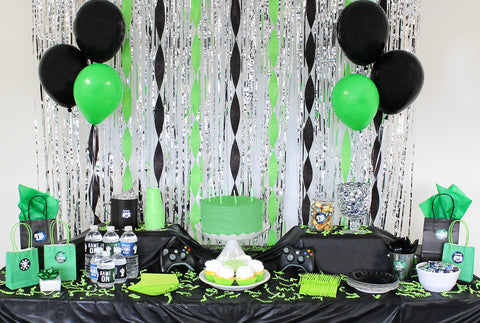 Video Game Kids Birthday Party Xbox Playstation