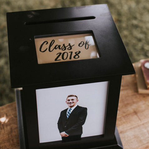 graduation party gift table