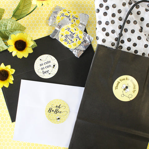 Bumble Bee Baby Shower Favor Ideas