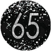 65th Black and Silver Birthday Collection