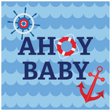 Nautical Ahoy Baby Shower