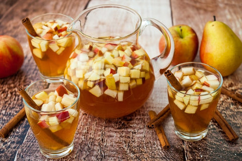 Apple Cider Sangria Punch