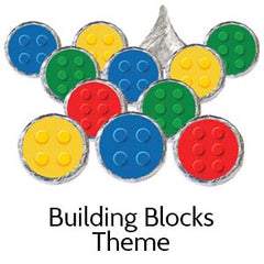 building block birthday party supplies