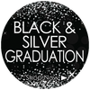 Black and Silver Class of 2017 Graduation Party Supplies