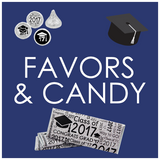 Graduation Favors and Candy Wrappers