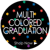 Multi Colored Class of 2017 Graduation Party Supplies