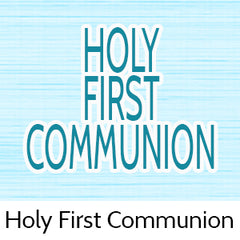 holy first communion party favors