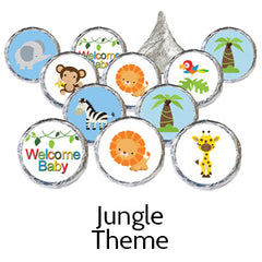 jungle safari baby shower favors