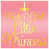 Pink and Gold Little Princess Baby Shower Theme