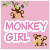 Girl Monkey Baby Shower Theme