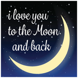I Love You to the Moon and Back Theme