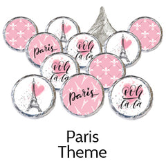 paris theme party favors