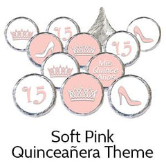 Quinceanera birthday party favors pink